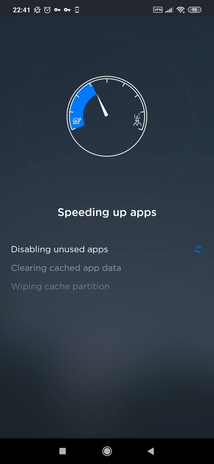TouchVPN App Speed